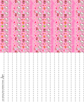 Hello Kitty Sweets Star Paper by blackheartqueen
