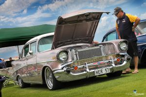 Her 1957 Chev by RaynePhotography