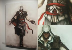 ASSASSIN'S CREED: Vernissage 1 by i-Yuki