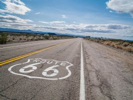 Route 66, Amboy by j-ouroboros