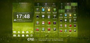 Vivid Green Theme for Android by ztart-theme