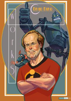 Brad Bird by juarezricci