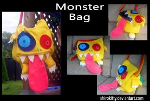 Monster Bag by Shirokitty