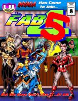 Fab Four Cover Cover Issue  #8 by Captain86