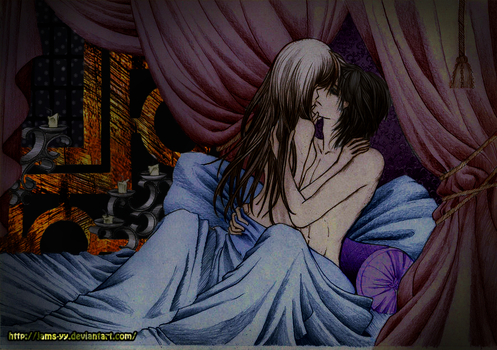 Kaname And Yuki Bed Action by JaMs-Yy