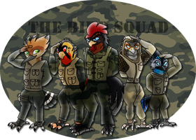 The Bird Squad ~ Comission for Xeshaire by RIOPerla