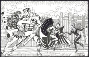 World's Finest Dance Party - Steven Butler by ComicBookArtFiend