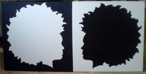 afro painting by zoemba
