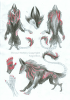 God of Life/Death- Morgul Wolf Design Contest- REF by SonsationalCreations