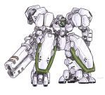M-18G Juggernaut Assault Mecha by MobileSuitGio
