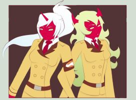 scanty and kneesocks by resubee