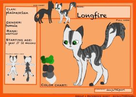 (TcotV) .: Longfire ref sheet NEW :. by TheClansOf-TheValley