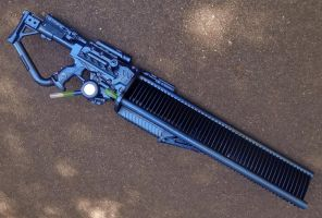 Scynavoid Impulse Gauss Gun, Completed! by KingMakerCustoms