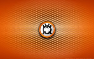 Wallpaper - Orange Lantern Corps Logo by Kalangozilla