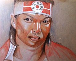 Bolo Yeung sketch by dezz1977