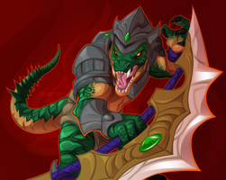 Renekton by Croxot