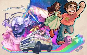 Steven Universe Awesomeness! by ComfortLove