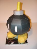 Bob-omb Papercraft Version 1 by Skele-kitty