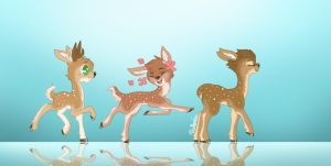 Little Fawny Fawns by Hooplang