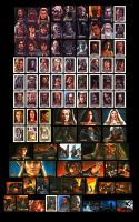 106 Lord of the Rings cards by Melanarus