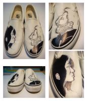 Custom Hand-Drawn Vans by Alandy