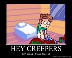 Hey creepers! by sailorcupcake