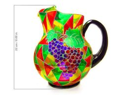Pitcher A La Stained Glass by cardiae