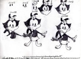 How To Draw Dot Warner by AuronTsubaki1985