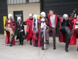 All the Dante's!! by SidneyVons