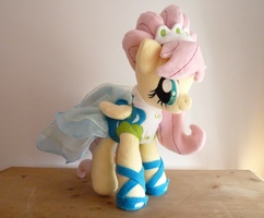 Fluttershy Modelshy Plush by Wild-Hearts