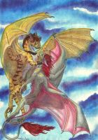 Dragons flight by 1993Mariola