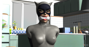 Catwoman cleave gagged! (Arkham City) by Algoid