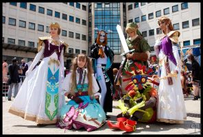 The LOZ Zelda group by Narayu