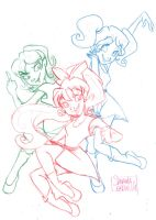 :: Power Power Puff yeah :: by samycat
