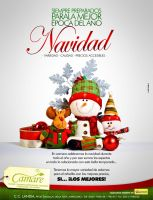 Camare Christmas Ad by cesar470