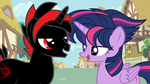 Shadow Loves Twilight's New Hairstyle by CyrilSmith