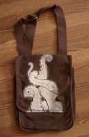 Canvas tentacle bag by missmonster