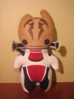 mass effect mordin plush, chibi style! by viciouspretty