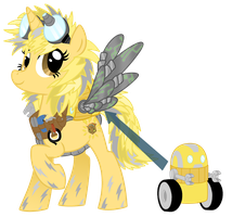 Commission-OC Vector, Lektra Bolt by LostInTheTrees