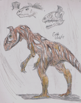 Crylophosaurus elloiti, version 2 by Velociraptor-King