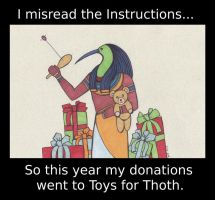 Toys for Thoth by benwhoski