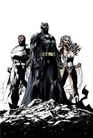 Jim Lee Icons Color by SpicerColor
