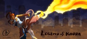 Legend of Korra--Something Fierce by MadMarchHare