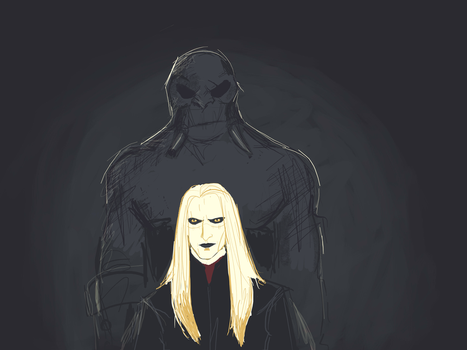 Prince Nuada and Wink by Lucius007