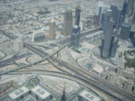 Roads of Dubai by Mysteriouspizza