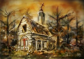 Louisiana Church by Annika-86