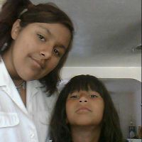 me and my cute lil sister. by raelynn109