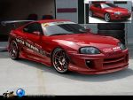 Toyota Supra Drift by CapiDesign