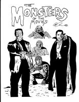 Universal Monsters #1 by RoyPrince