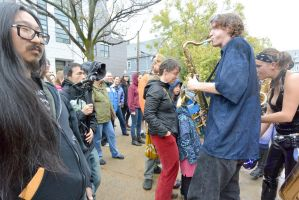 2014 Honk Festival,Chaotic Noise In the Audience2 by Miss-Tbones